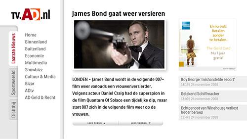 Internet TV - AD.nl article