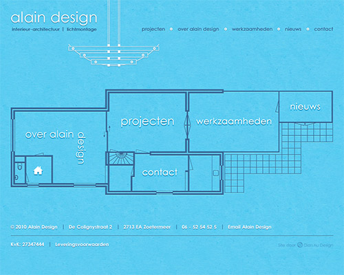 Alain Design Homepage