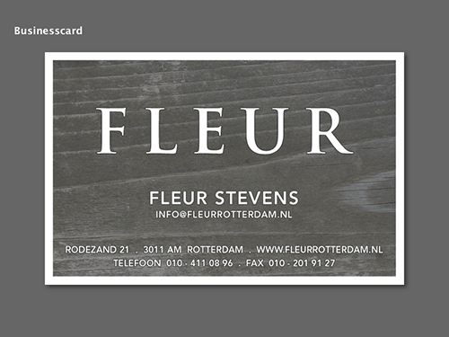 Fleur Businesscard