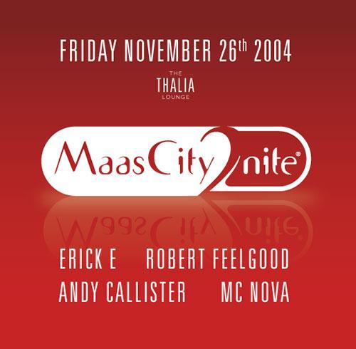 MaasCity2nite Flyer
