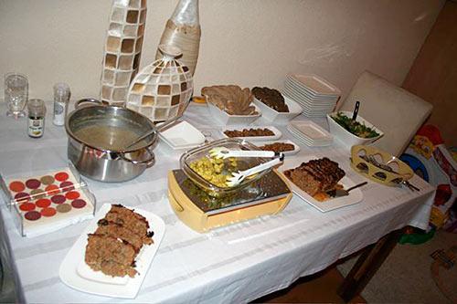 Sinterklaas buffet