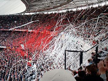 Tifo actie Feyenoord - PSV