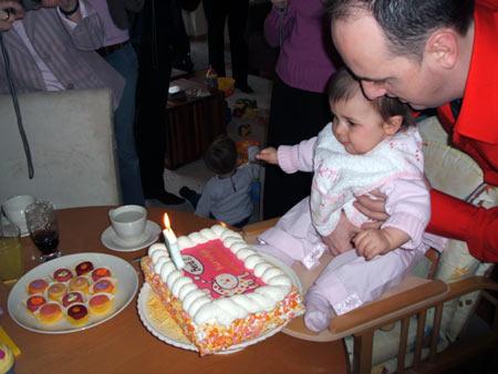 De eerste taart