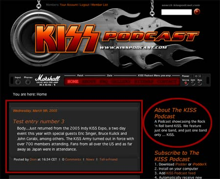 KISS Podcast test image