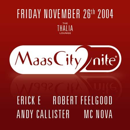MaasCity2nite November Flyer